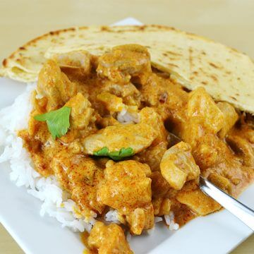 Super Easy Chicken Satay Curry