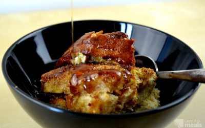 Super Simple Overnight French Toast Casserole