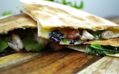 Super Easy Chicken Quesadilla Recipe