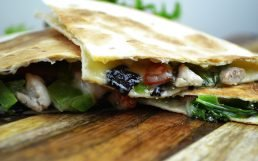 Super Easy Chicken Quesadilla