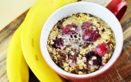 Amazing Baked Oatmeal in a Mug in 5 Easy Steps