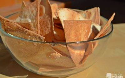 "A ""cheats"" Homemade Tortilla Chips Recipe"