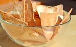 "A ""Cheats"" Homemade Tortilla Chips"