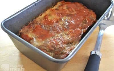 Amazingly Easy Meatloaf