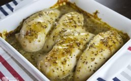 Deliciously Easy Baked Honey Mustard Chicken
