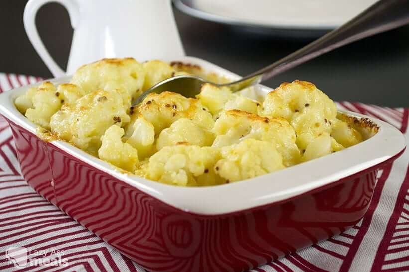 Easy Cauliflower Cheese