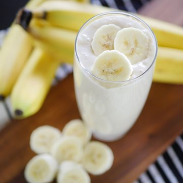 Delicious Banana Yogurt Smoothie