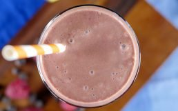 Delicious Chocolate Raspberry Smoothie
