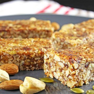 Flavor-packed Paleo Breakfast Bars