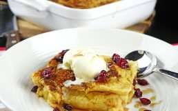 Easy Bread and Butter Pudding