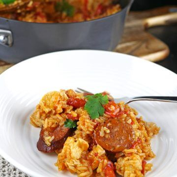 Easy Chicken Jambalaya