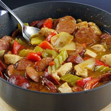 Easy Gumbo with Chicken & Chorizo