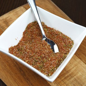 Super Simple Homemade Cajun Seasoning