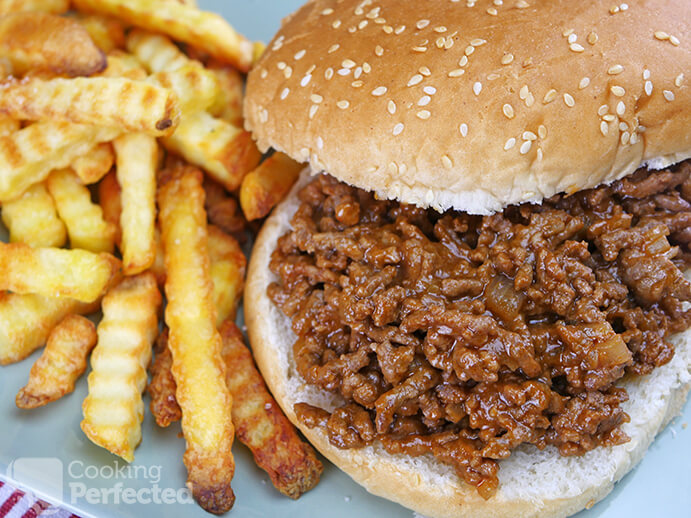 Sloppy Joes with a Side of Chips