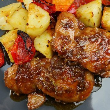 Easy Honey Balsamic Chicken