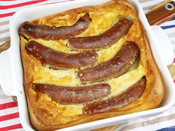 Oven Baked Toad in the Hole