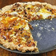 Gluten-Free Pizza Dough Cooked
