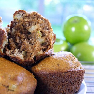 Wholesome Paleo Apple Muffins