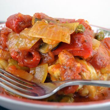 Mouth Watering Paleo Chicken Cacciatore